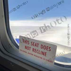Airplane Window Sign