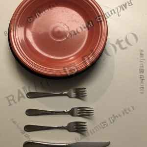Plate & Silverware
