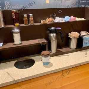 Coffeeshop prep station