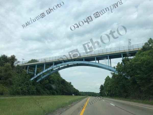 Bridge on overpass